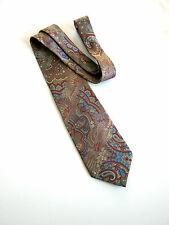 GIANNI BUTTI NUOVA NEW PAISLEY MADE IN ITALY 100% SETA SILK IDEA REGALO