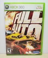Full Auto - Microsoft Xbox 360, 2006 - Tested