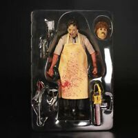 NECA- Horror Leather Face Texas chainsaw massacre Custom Action Figure SET-20CM