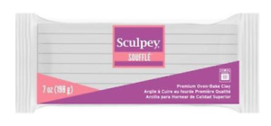 Sculpey Souffle Igloo (White) 198g 7oz LARGE BLOCK - Polymer Clay