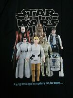 Star Wars Vintage Kenner Action Figures Mens Unisex T-Shirt, Available Sm to 2x
