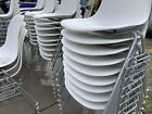 Herman Miller Charles Eames Plastic Side Shell Chairs White