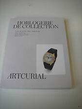 Catalogue vente HORLOGERIE DE LA COLLECTION 18/07/16  Rolex Cartier + autres