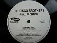 "The Disco Brothers Final Frontier 12"" vinyl #214"
