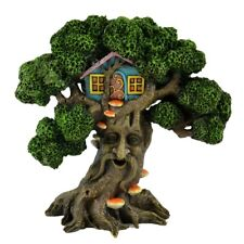Tree with Face and Tree House   MI 56081 Miniature Fairy Garden