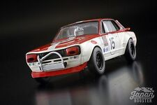 [KYOSHO ORIGINAL 1/43] Nissan Skyline 2000 GT-R KPGC10 Racing #15 Red K03028C