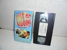 The Best of Just Kidding Vol. 2 VHS Video Out Of Print  Practical Jokes