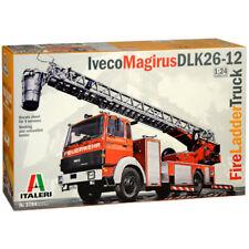 Italeri Iveco Magirus escalera de incendios escalera camión 1:24 Modelo Kit