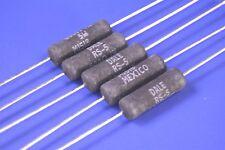 5 Vishay 600 Ohm Audio 5W 1% Precision WireWound Resistors P/N: RS005600R0FE12