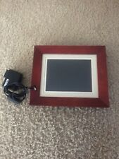 Wooden electronic photo frame (10.5' x 9')