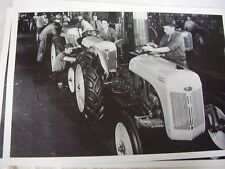 FORD TRACTOR  8N ASSEMBLY LINE  # 3 12 X 18 LARGE PICTURE   PHOTO