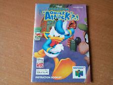 Manual Instructions N64 Nintendo 64