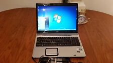 "Hp Pavilion Dv9000 2.0GHz 17"" Screen Laptop  Wifi  WebCam  Windows7 Ultimate"