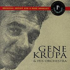 Gene Krupa & His Orchestra CD (Remastered - Members Edition) 1996 TKO