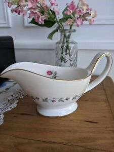 Vintage Arklow Pottery Gravy/Sauce Boat Avoca Pattern for Marshall Jones Dublin