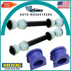 Cadillac Chevrolet GMC MOOG Front Sway Bar Link & Bushing Set Of 4