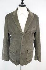 NWOT J. Crew Corduroy Half Norfolk Leather Button Patch Pocket Elbow Jacket XL