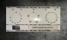 Cata EOS60SS Forno Pannello Frontale Compatibile Set Adesivi Per Worn Fronti
