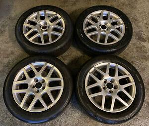 """Genuine OEM VW Golf MK4 GTI Montreal 16"""" 5x100 Alloy Wheels + Tyres Bora Polo"""