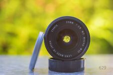 Exakta macro 24mm f 2.8 - Canon FD Mount objetivamente F. DSLR puede ser adaptado