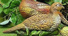 Ring Neck Pheasant Hen Female Bird  Latex Fiberglass Production Mold Concrete