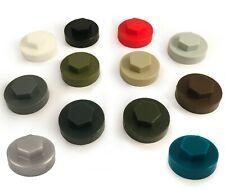 "16mm Hexagonal TIMco TEK Panel Screw Cover Caps for 8mm 5/16"" Roofing Screws"