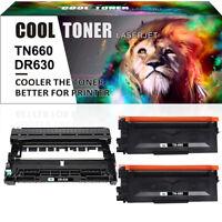 Compatible for Brother 1*DR630 Drum +2*TN660 Toner HL-L2300 MFC-L2700 DCP-L2520