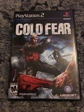 Cold Fear (Sony PlayStation 2, 2005) CIB, GREAT CONDITION!!! Rare