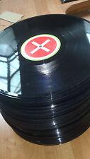 """100 LP Vinyl Schallplatten 12"""" für Deko, Partykeller, Basteln, Wurfscheiben"""
