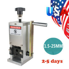 New listing Manual Wire Recycle Stripping Machine Hand Crank Drill Operated Cable Stripper A