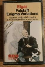 Gibson / Scottish Nat. Orch. - Elgar: Falstaff / Enigma Variations - RCA RK25206