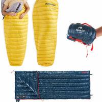 NatureHike Goose Down Sleeping Bag Ultralight Envelope Camping Sleeping Bag Hot