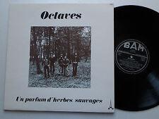 Les OCTAVES Un parfum d'herbes sauvages  ORIG LP BAM (1976) Folk - NMINT/EX+