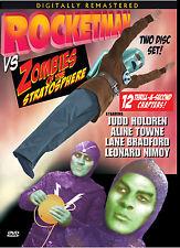 ZOMBIES OF THE STRATOSPHERE- SERIAL JUDD HOLDREN, LEONARD NIMOY 2 disc set DVD