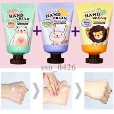 Shea Butter Hand Cream 3pcs, Olive, Rose, Lavender, 35g(1.18oz), Made in korea