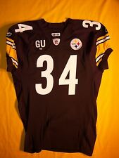 STEELERS RASHARD MENDENHALL 2008 TEAM ISSUED GAME JERSEY Gene Upshaw Mem Patched