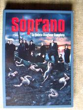 I soprano - la quinta stagione completa 4 DVD come nuovo