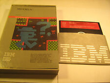 SHAMUS by SynSoft Diskette for IBM PC 1984 Floppy disk & Book 1st Edition [Y119]