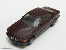 HERPA Mercedes-Benz 560 SEC in weinrot 1:87