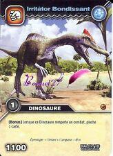 Carte DINOSAUR KING Attaque Alpha IRRITATOR BONDISSANT DKAA 014/100