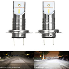 2X Canbus 55W H7 LED Conversion KIT Car LED Headlight 6000K Lamp Bulb For Focus