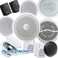 Ceiling/Wall Speakers 6W 40W 80W 250W 300W Shop Home or Showroom HiFi Surround