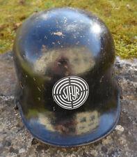 Alter M 34 Feuerwehrhelm vermutlich Werksschutz RAR Hersteller DRP Thale