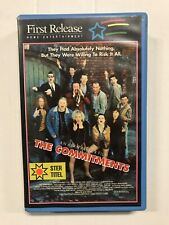 The Commitments Ex-Rental Vintage Big Box VHS Tape English dutch subs