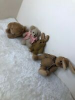 Large bundle of teddy bears. Some new some old jointed