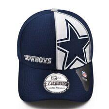 Dallas Cowboys New Era Logo Panel 39THIRTY Flex Hat - Navy
