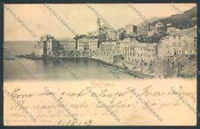 Genova Bogliasco PIEGA cartolina ZT0350