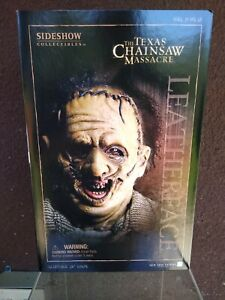 Sideshow 1/6 Texas Chainsaw Massacre Thomas Hewitt Leatherface Figure
