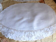 11 Piece Set Vintage Marghab Organdy Placemats And Napkins