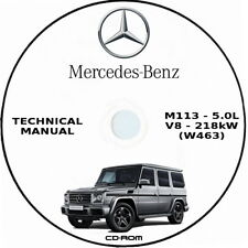 Technical Manual Mercedes-Benz G Klass (W463).Manuale Tecnico Mercedes G W463.